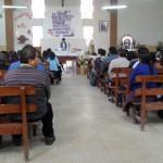 Die Messe am Sonntag mit dem anderen Padre